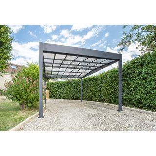 Trigano Carport Libeccio 15.8m2 aus Aluminium