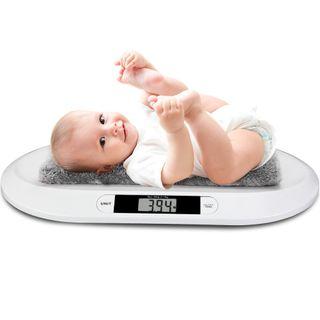 monzana Digitale Babywaage Kinderwaage bis 20kg LED-Anzeige