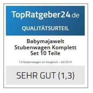 Babymajawelt Stubenwagen Komplett Set 10 Teile
