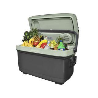 MALATEC Elektrische 45 L Kühlbox Wärmebox Campingbox 12V