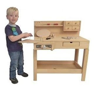 Holzspielzeug Peitz Kinder Werkbank 4014 Massivholz Hobelbank Im Kinderwerkbank Aus Holz Vergleich 2020