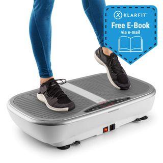Klarfit Vibe 3DX Pro Vibrationsplatte weiß