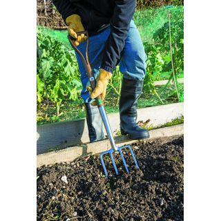 Draper Expert Heritage-Gartengabel aus Edelstahl