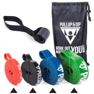 PULLUP & DIP Fitnessbänder Widerstandsbänder