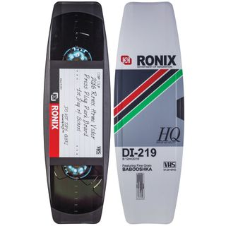 "Ronix Press Play ATR ""S"" 141 Wakeboard 141,1 vhs tape"