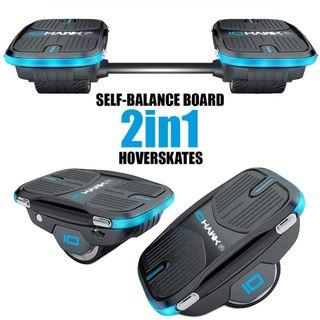 IOHAWK NXT Skates 2 in 1 Elektro Hoverboard