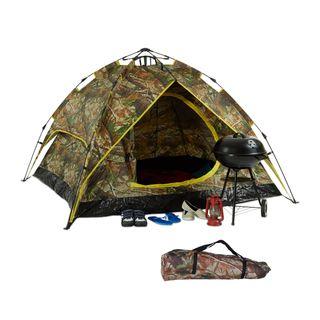 Relaxdays Campingzelt für 2-3 Personen