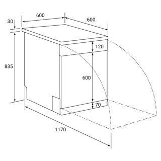 kkt kolbe gs6013ed geschirrsp ler standger t unterbau 60 cm im geschirrsp ler unterbauf hig 60. Black Bedroom Furniture Sets. Home Design Ideas
