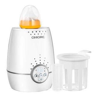 OMOR  3-in-1 Fläschenwärmer Baby, Flaschen-und Babykostwärmer mit LED Display,