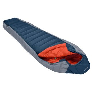 Vaude Cheyenne 350 Schlafsack Baltic sea Zipp Links