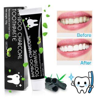 MayBeau Aktivkohle Zahnpasta Natürliche Zahnaufhellung