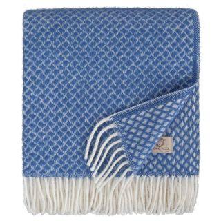 Linen & Cotton Luxus Wolldecke Sofia