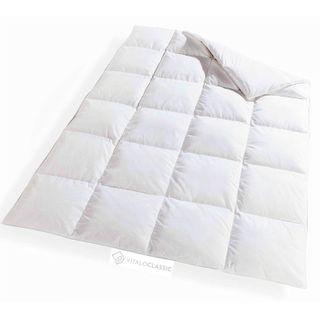 100/% Gänsedaunen Winter Steppdecke Bettdecke Decke Füllung Baumwolle Zwilling