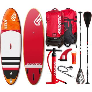 Fanatic Fly Air Premium 10.8 inflatable SUP Windsurf Stand up Paddle Board