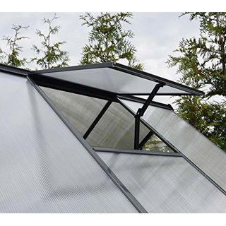 Palram Aluminium Gewächshaus Gartenhaus Hybrid 6x8
