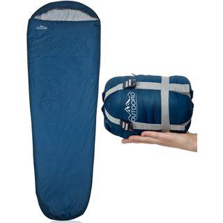 Outdoro ultraleichter Schlafsack kleines Packmaß