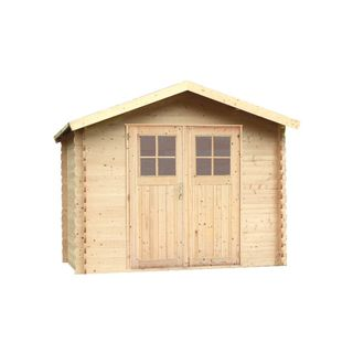 Alpholz Gerätehaus Mons aus Fichten-Holz