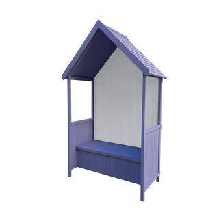 GARDIUN Pavillon Alice Purple 75 x 137 x 223 cm aus Holz