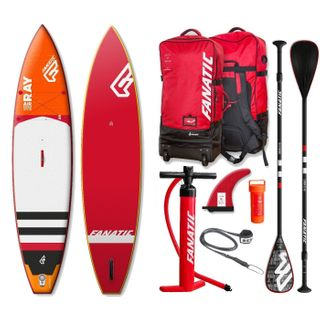 Fanatic Ray Air Touring Premium 11.6 inflatable SUP Windsurf Stand up Paddle
