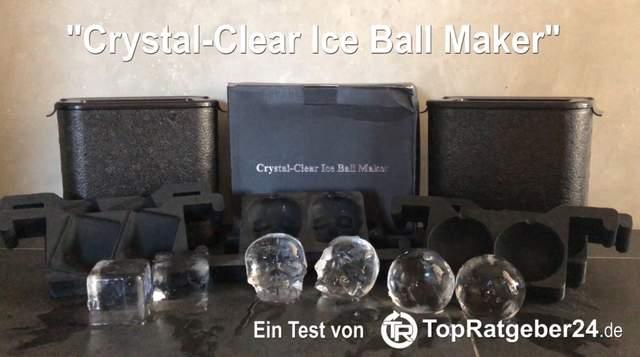 Klare Eiswürfel Test und Vergleich