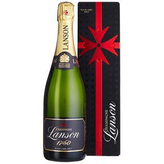 Lanson Black Lable Brut Champagne in Geschenkhülle