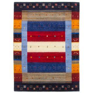CarpetFine: Gabbeh Don Teppich 200x290 cm Multicolor