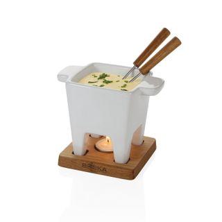 BOSKA Käse Tapas Fondue in weiß