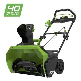 Greenworks 40V Akku-Schneefräse