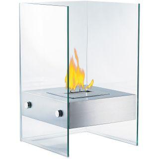 Carlo Milano Dekofeuer im Glaswürfel-Look