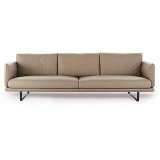 HONGSHENG Freizeit DREI-Personen-Sofa Wohnzimmer Einfache Sofa