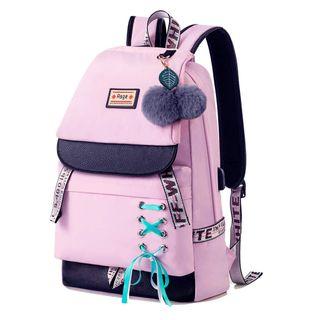 DE Asge Schulrucksack Mädchen Schulranzen Jungen Schultasche mit Ergonomischem