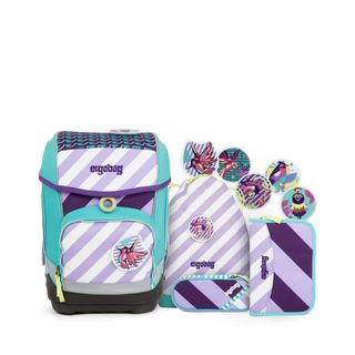 ergobag cubo Set Stripes Schulranzen-Set