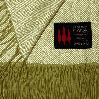 Lorenzo Cana High End Luxus Alpakadecke 100% Alpaka Fair Trade Decke