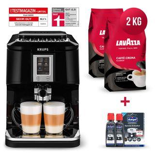 Krups Kaffeevollautomat Testsieger Megapack 2x 1 Kg Lavazza Caffe