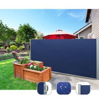 CCLIFE Seitenmarkise Ausziehbar Sichtschutz Windschutz Sonnenschutz TÜV