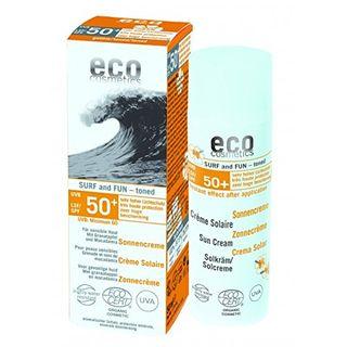 eco cosmetics Surf & Fun Sonnencreme LSF 50+ getönt