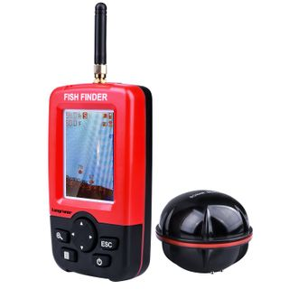 Longruner Fishing Finder Portable Wireless Sonar Sensor Fish