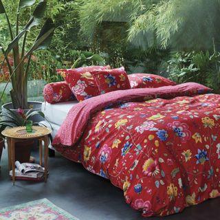 Pip Studio Pip Bettwäsche Floral Fantasy Red 135x200 Cm Im
