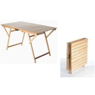 Picknick-Tisch aus natürlichem Holz