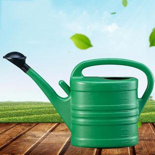 Zink-Gießkanne 5L mit Henkel Blumenkanne Wasserkanne Garten Dekokanne Blechkanne