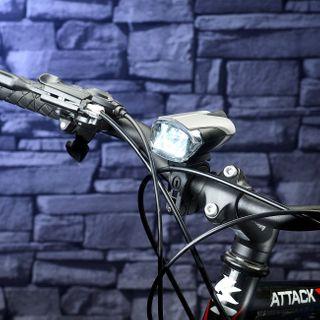 KryoLights LED Fahrradbeleuchtung: Set: LED-Fahrradlampe