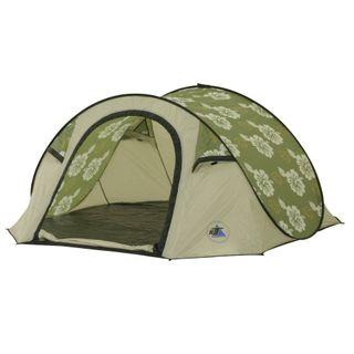 10T Campingzelt Flowerpop 3 Pop-Up Wurfzelt wasserdichtes