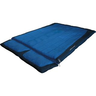 High Peak Schlafsack Twin Forester blau