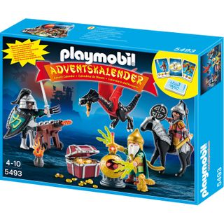Playmobil 5493 Adventskalender Kampf um den Drachenschatz