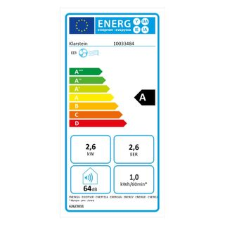 Klarstein Metrobreeze 9 Las Vegas mobile Klimaanlage 3-in-1 Klimagerät: