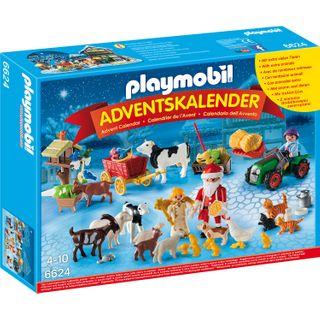 Playmobil 6624 Adventskalender Weihnacht auf dem Bauernhof