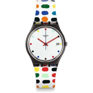 Swatch Damen Digital Quarz Uhr GM417
