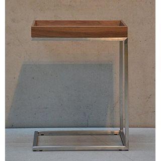 Jan Kurtz Beistelltisch Pizzo Höhe 52 cm Gestell Edelstahl
