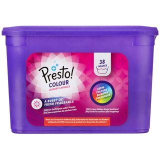 Amazon-Marke: Presto Pods Color-Waschmittel 152 Waschgänge