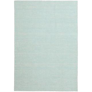 CarpetVista Kelim loom Mint grün Teppich 160x230 Moderner Teppich